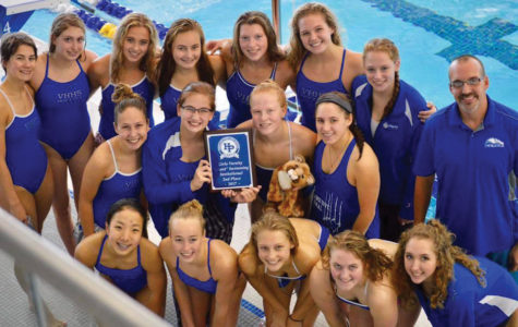 Swimming into the history books: Girls Swimming and Diving on pace for a record-breaking season