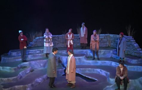 Winter play tackles an impressive set and serious story