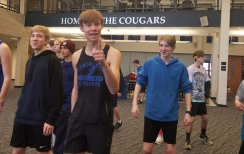 Boy's Track team strides towards success