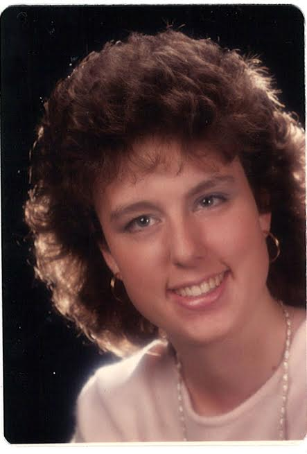This is a photo of Monica Tolva in high school.