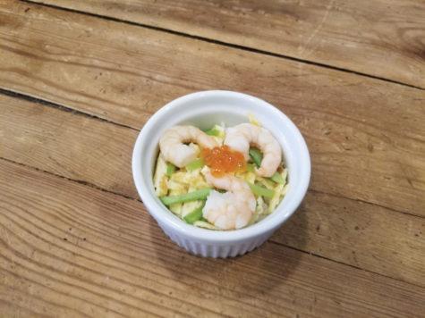Chirashi Zushi in a dish