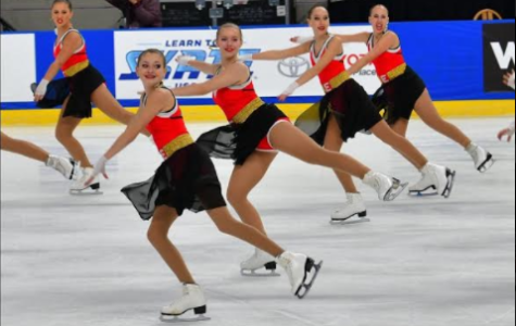 Q&A with synchronized skater Lauren Costin