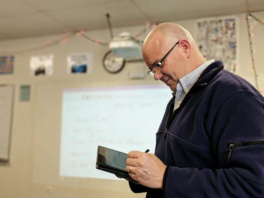 Mr. Pardun takes a unique approach to teaching