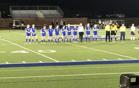 Girls Soccer players kick off their season