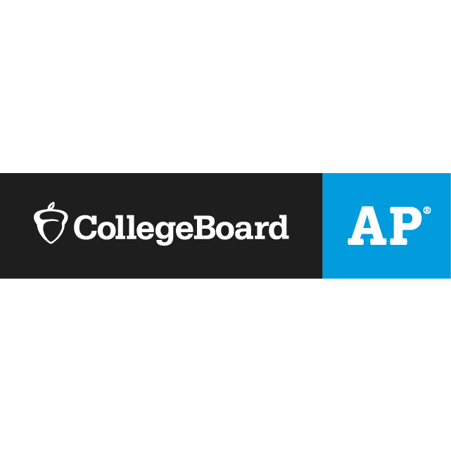 A+graphic+is+split+down+the+middle+into+a+black+and+blue+section.+The+blue+section+features+the+white+CollegeBoard+acorn+and+white+text+reading%2C+%22CollegeBoard%22.+The+blue+side+reads%2C+%22AP%22+in+white+text.