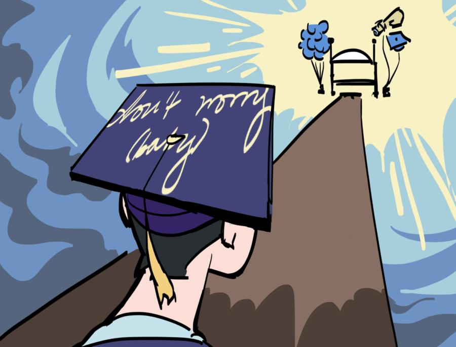 Fight for the right to decorate graduation caps