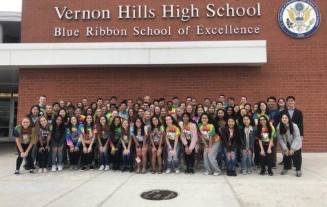 VHHS recognizes 108 honor graduates