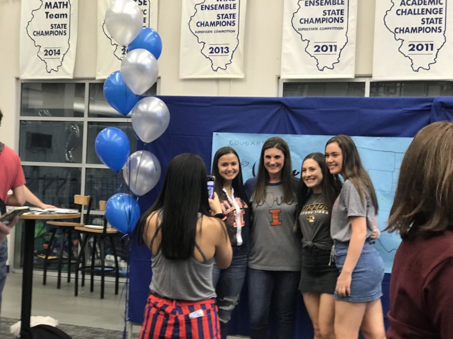 Seniors celebrate decision day 2019