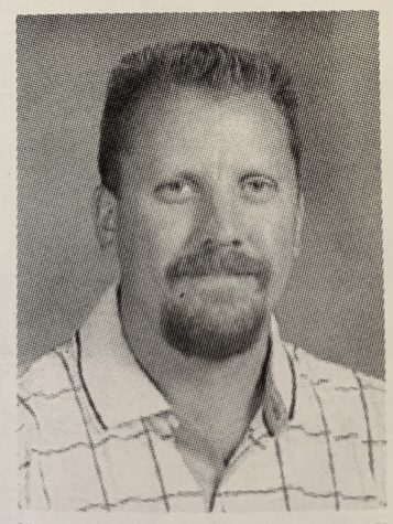 Picture of Mr. Monken from the 2001 VHHS yearbook.