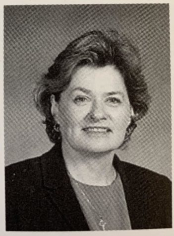 Picture of Ms. Nora from the 2005 VHHS yearbook.