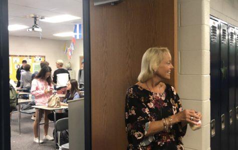 Ms. Schroeder spreads positivity