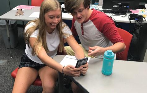 VHHS students use Tik Tok around the clock