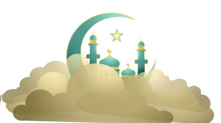 Illustration representing Eid