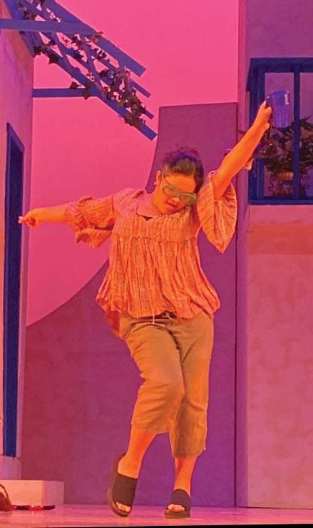 Sofia Gonzalez-Bernier (10) performs in the musical