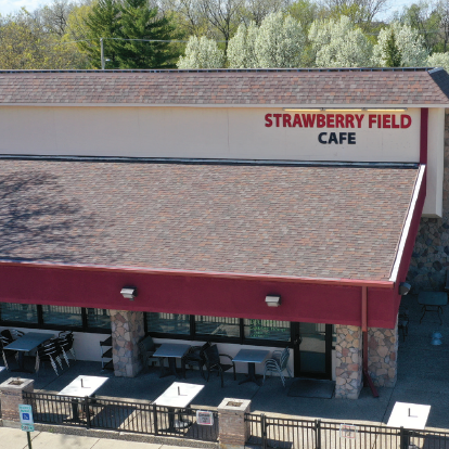 This is a photo of Strawberry Field Cafe.